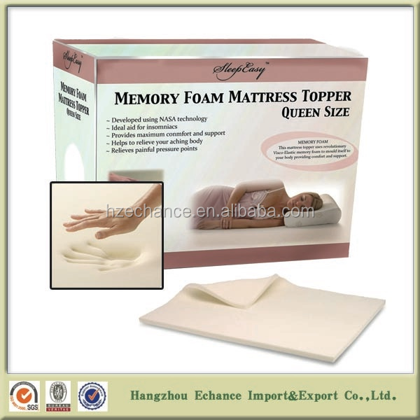 queen size memory foam mattress luxury home textiles organic bed mattress toppers with bamboo cover