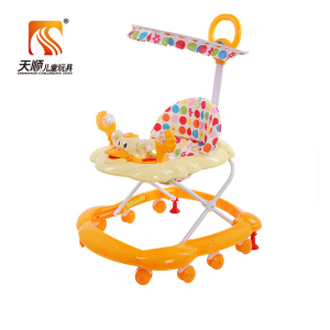baby toy walker 8 wheels round baby walker racing baby walker rocker
