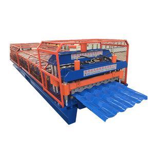 Innovative color steel zinc Circular trapezoidal roofing steel profile sheet making machines for sale