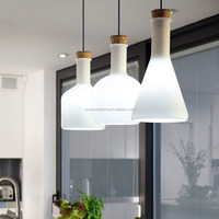 (XCP7083A) modern simple Labware Lamps white glass pendant lighting