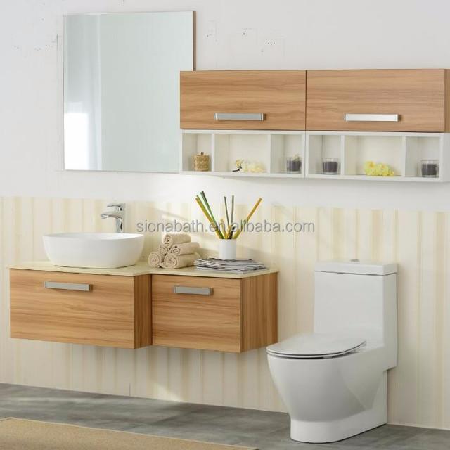 Sanitary Ware Wooden Vanity Fair Bathroom Furniture