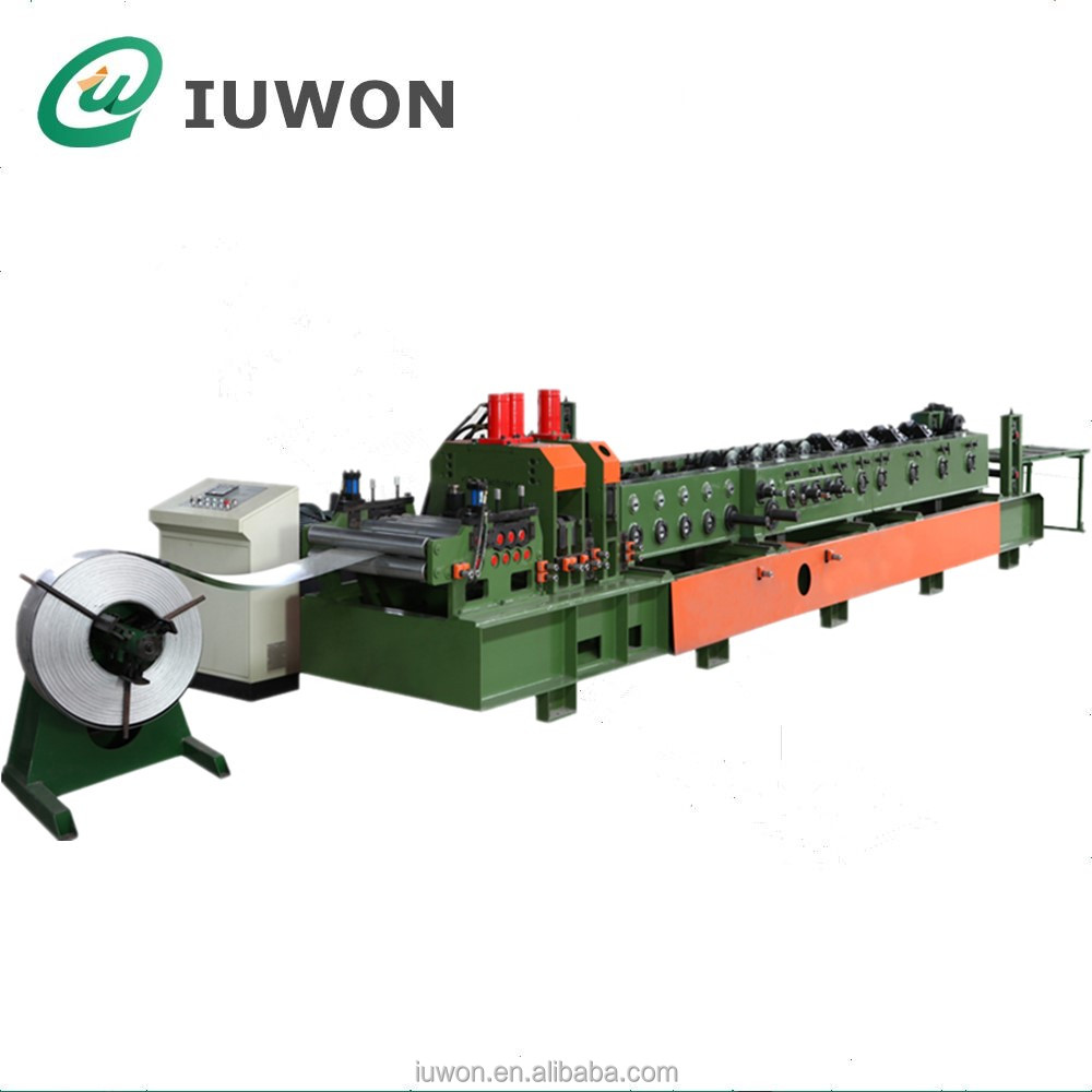 Z Steel Z-Purlin Roll Forming Machine, C/Z Intechange Purlin Making Machine