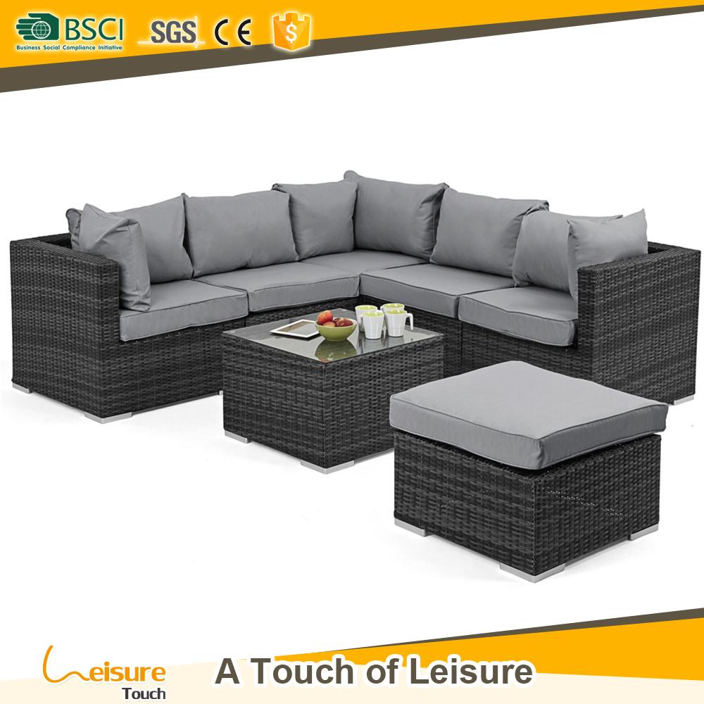 Mejores ofertas de uso general al aire libre muebles de ratán sofá ...