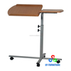 Height adjustable mobile laptop stand rolling carts computer table wholesale