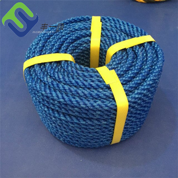 Practial agriculture 10mm pp twisted rope for farming