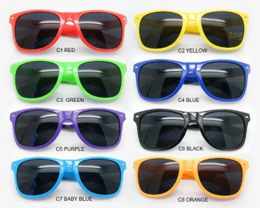 FREE Sample, Custom logo sunglasses Logo printing on lenses promotion sunglasses