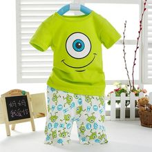 Kids Boys Cartoon Short Sleeved T shirt and Short Trousers Outfits Aged 1 7Y