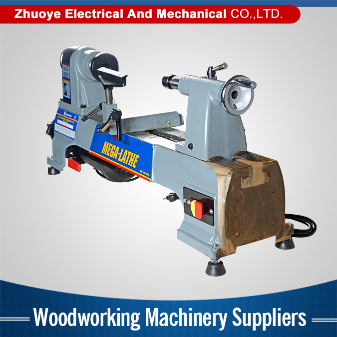 Latest design high efficiency portable wood turning lathe to machinery