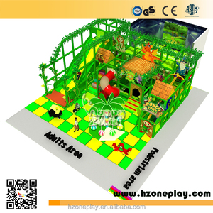 Lastest Jungle Topic Children Indoor Soft Playground Equipment for Sales