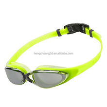 adult swim goggles waterproof anti-fog eco friendly silicone swim goggles