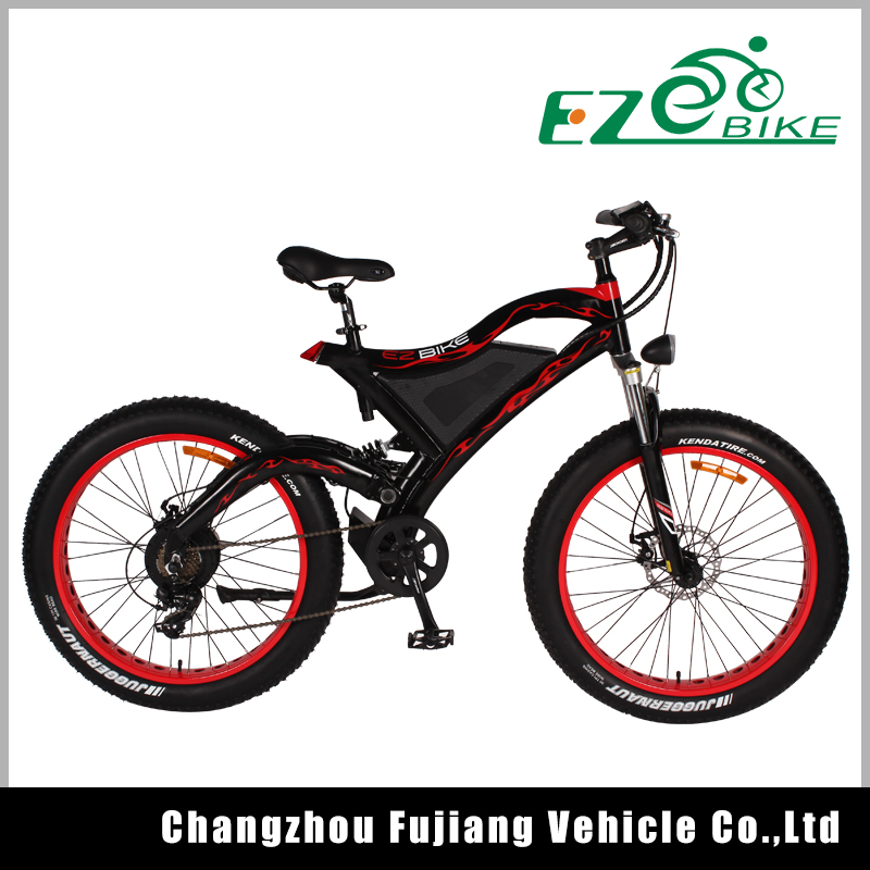 48 volt fat tire electric bike mountain bicycle electric