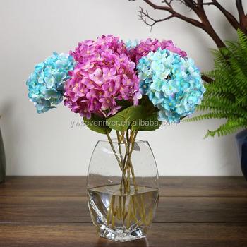 Wholesale wedding flower single silk artificial hydrangea flowers wholesale wedding flower single silk artificial hydrangea flowers mightylinksfo