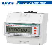 HJD260A 3 Phase Digital Modbus DIN Rail KWH Energy Meter