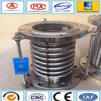 Stainless Steel Metal Bellows Expansion Joint With Tie Rods - Buy Bellow  Joint,Expansion Joint,Bellows Expansion Joint Product on Alibaba com