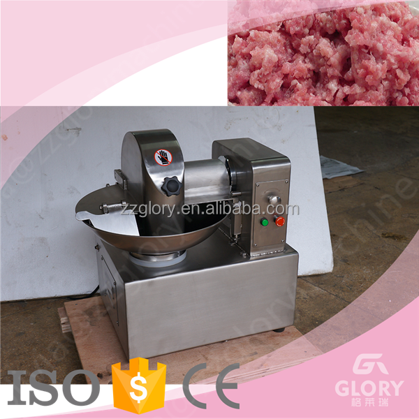 food &Beverage meat bowl cutter machine for sale/meat strip cutter