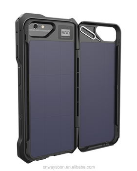 solar battery case for iphone 7, 6S , 6 2500mAh extended battery for iphone