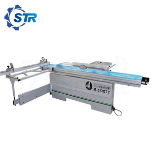 3200mm Woodworking Sliding Table Saw/panel furniture sawing machine with manual tilting saw blade for MDF and wood board cutting