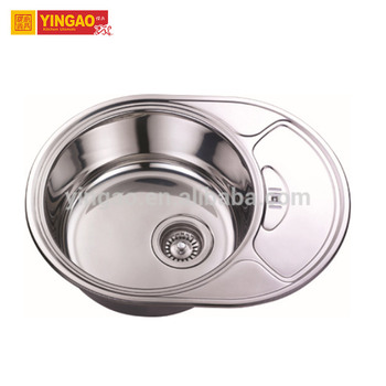 Home hand 304 Modern Stainless Steel Kitchen Sink With Drain Board