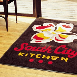 hot sale nylon material anti-slip rubber backing door mats