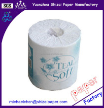 Wholesale price toilet tissue paper roll, 350 sheets
