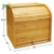 High Quality 2 Layer Large Bread Box Unique Corner Bread Box For Kitchen Counter Large Capacity
