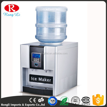 2L Ice Makers With Water Dispenser Water Portable Making Cool/ Hot Water  Machine