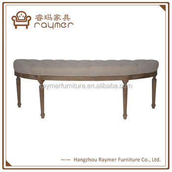 Demi Lune Fabric Bedroom Bench - Buy Bedroom Bench Seats,Lune Fabric  Bedroom Bench,Antique Bedroom Bench Product on Alibaba.com