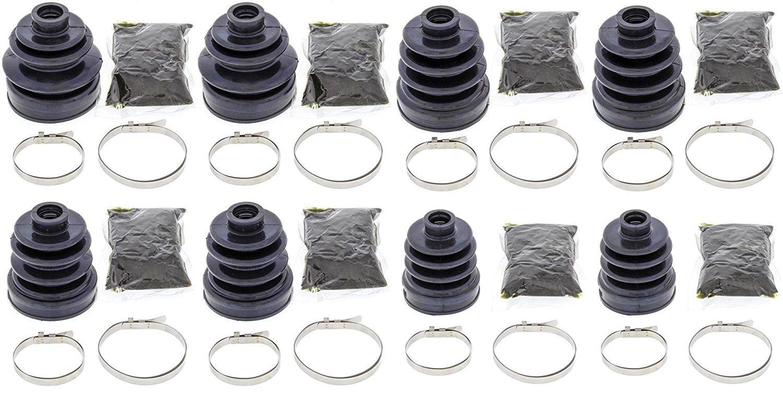 Complete Front & Rear Inner & Outer CV Boot Repair Kit for Honda TRX650 Rincon 2003-2004 All Balls