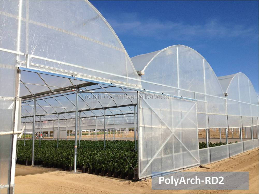 Commercial Film Greenhouse Construction - Buy Film Greenhouse ...