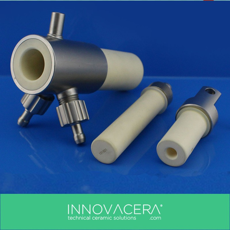 High-precision Alumina Ceramic Pump/Plunger For Filling Machine/INNOVACERA