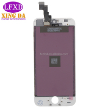 Black and White LCD Display Touch Screen Digitizer Full Assembly for iPhone 5s