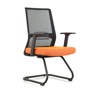 Mid Back Modern Mesh Visitor Chair with Armrest