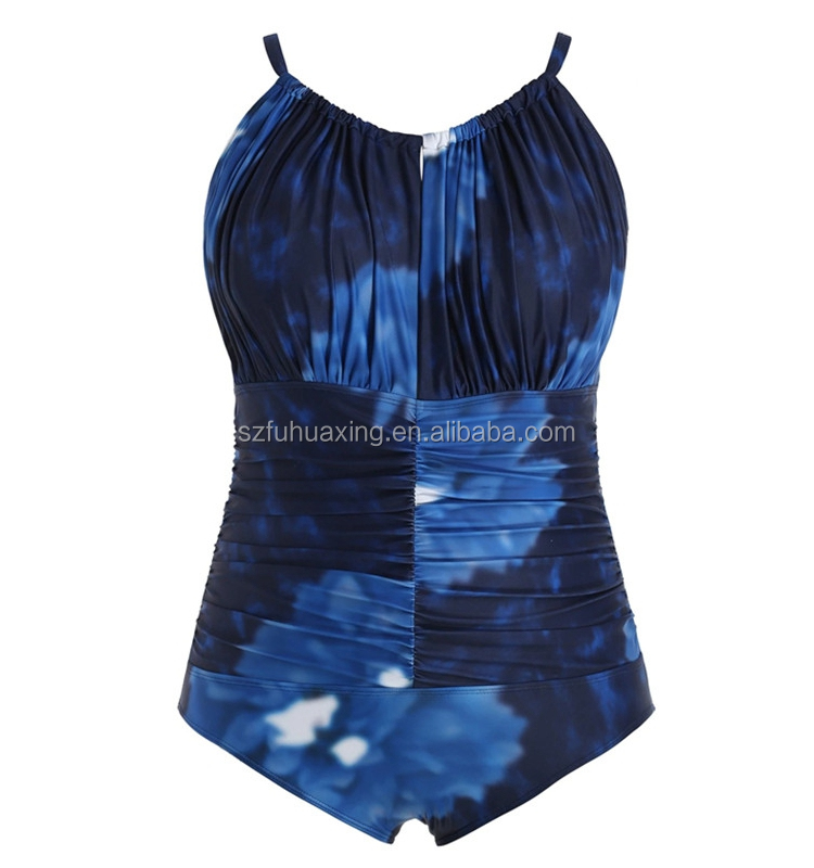 Custom Sexy Swimwear Bikini Bathing Suit Woman One Piece Plus Size Swimsuit