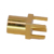 MMCX jack female connector PCB mount for earphone, gold plating