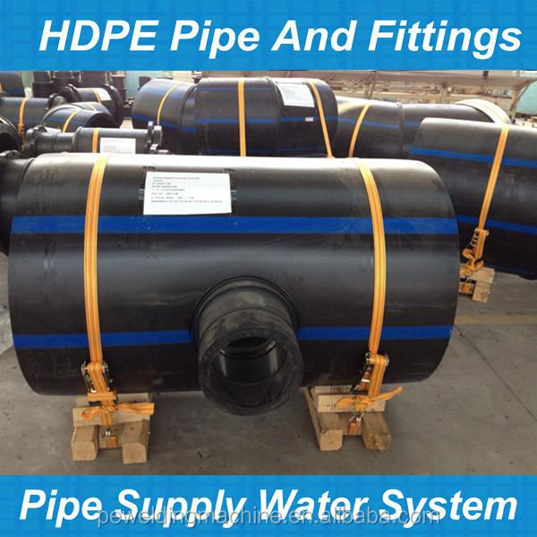 Degree segmented knee pe for hdpe pipes