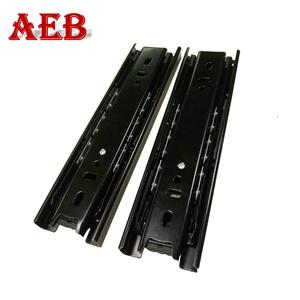 Full extension ball bearing drawer slide 6 inch drawer telescopic channel linear guide rail