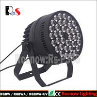 Guangzhou Lighting 36pcs LED displays 12w rgbwa+uv 6in1 led par light