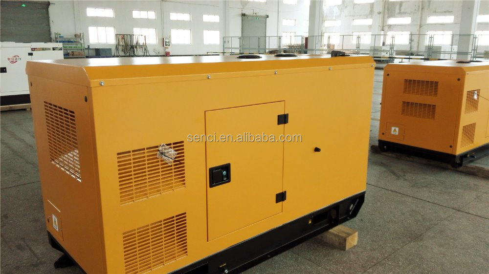 200KW emergency diesel generator silent type with ATS function