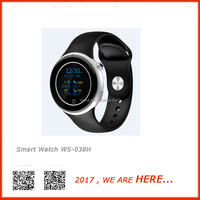 WSKA WS-038H smart watch for Android personalised watches with app/call remaiding