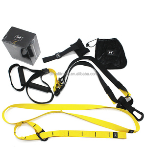 Resistance Training with Suspension Trainer Straps For Sport Training Home Gym