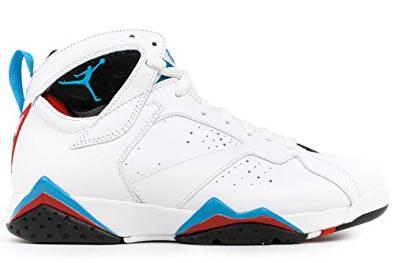 Nike Air Jordan 7 Retro VII White Orion Blue 2011 Retro 304775-105 [US size 11.5]