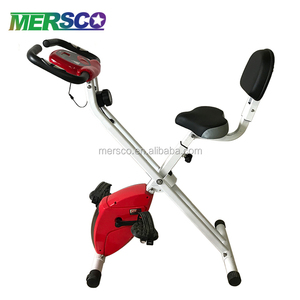 Best Home Magnetic Foldable Exercise Bike with Seat
