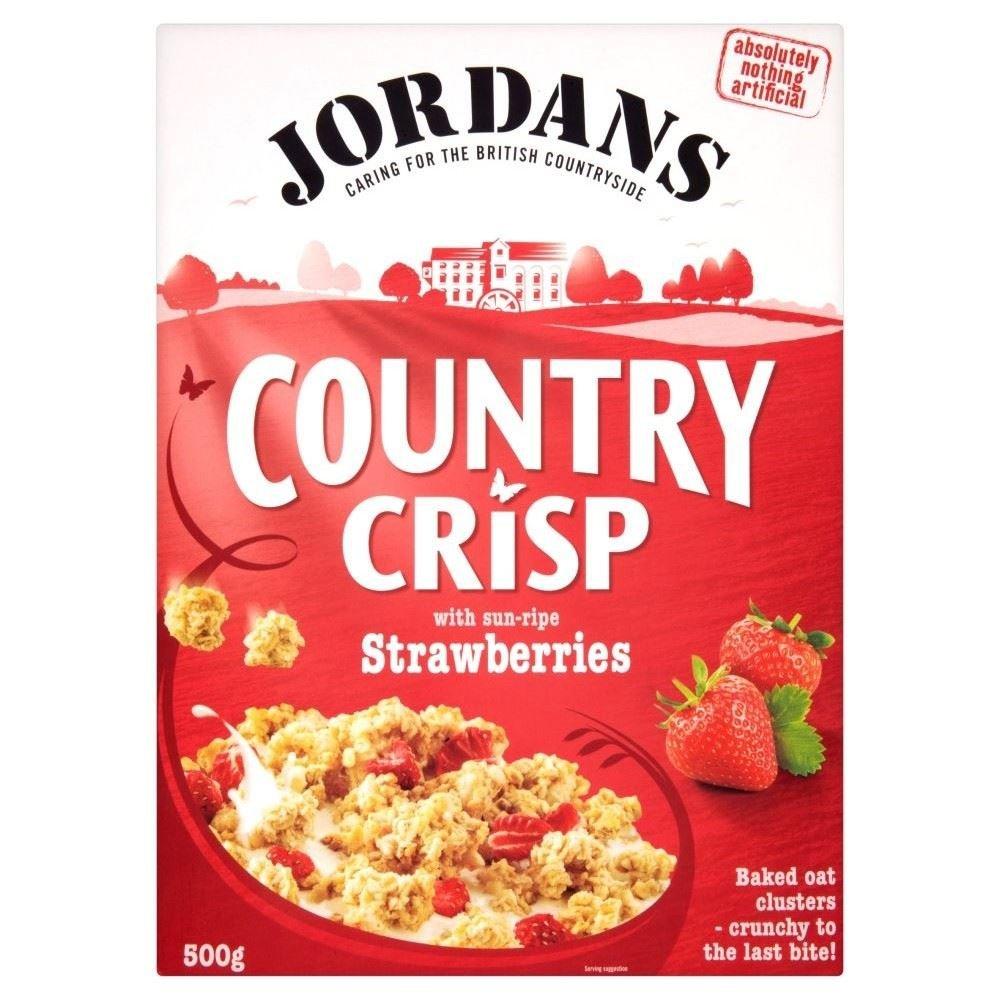 Jordans Country Crisp Strawberry Crunchy Clusters (500g)
