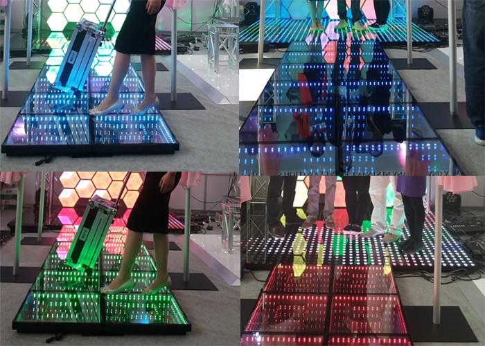 Acs 3d Infinity Mirror Led Rgb Dance Floor For Rental - Buy 3d Led ...