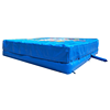 6x5x1.2m blue air bag landing inflatable stunt air bag for jumping