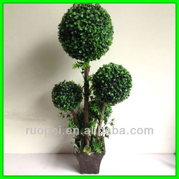 Grass Ball Potted Artificial Plants Outdoor Plastic Plants