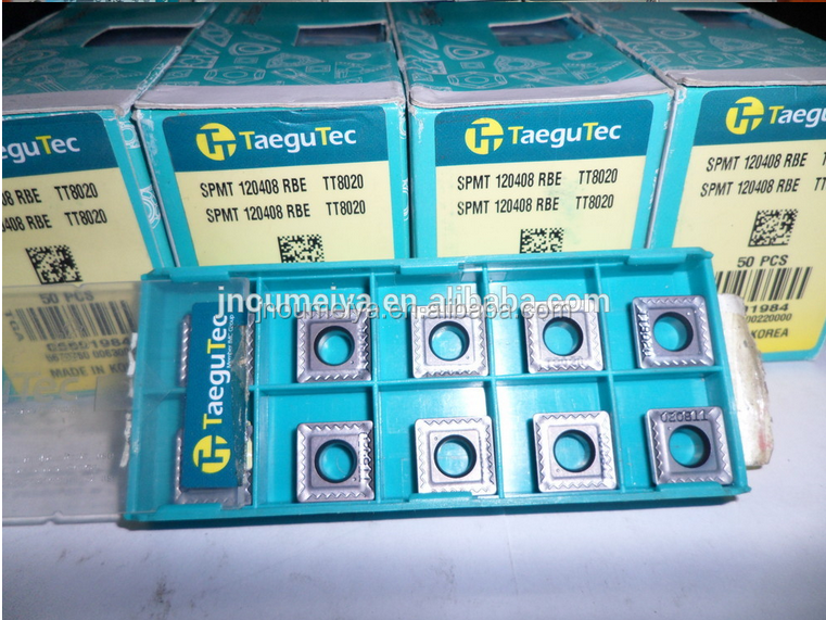 Different kinds of carbide inserts Taegutec cutting tools CNMG/DNMG/TNMG/VNMG/WNMG