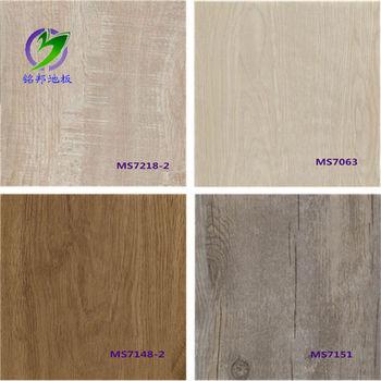 Fctory Direct Wood Grain Vinyl Flooring Pvc Laminate Flooring Wholesale