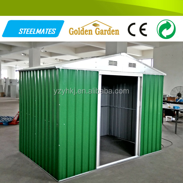 Outdoor steel portable motorcycle storage shed buy for Portable outside storage sheds