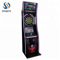 arcade games coin operated electronic dart board dart machine
